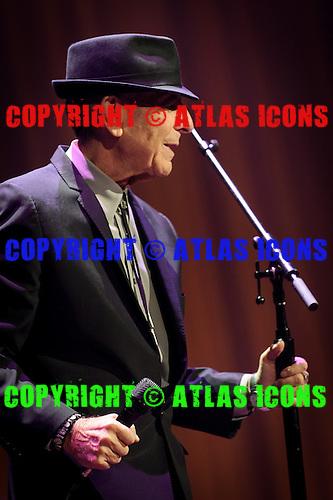 LEONARD COHEN, LIVE, 2012, <br /> PHOTOCREDIT:  IGOR VIDYASHEV/ATLASICONS