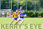Cormac Cronin Spa tracks Brian O'Donoghue Glenflesk  during their County League clash on Sunday