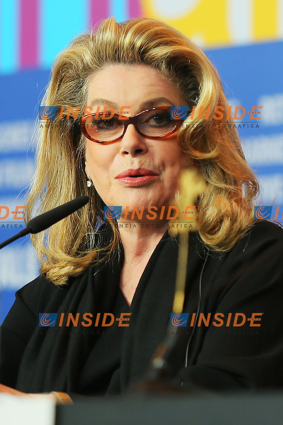 Catherine Deneuve. Berlin 15/02/2013. 63th Berlinale 'On My Way' Press Conference. foto Mark Cape/Insidefoto.