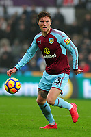 Burnley's Jeff Hendrick<br /> <br /> Photographer Ashley Crowden/CameraSport<br /> <br /> The Premier League - Swansea City v Burnley - Saturday 10th February 2018 - Liberty Stadium - Swansea<br /> <br /> World Copyright &copy; 2018 CameraSport. All rights reserved. 43 Linden Ave. Countesthorpe. Leicester. England. LE8 5PG - Tel: +44 (0) 116 277 4147 - admin@camerasport.com - www.camerasport.com