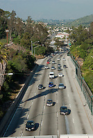Pasadena Freeway, I-110, Los Angeles, CA, Traffic, (SR 110) CA 110, Arroyo Seco, Parkway, Traffic
