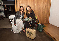 Coryander Friend and Jacqueline Suskin attend the West Hollywood Design District A Street Af(fair) Opening Party at Jenni Kayne on April 29, 2016 (Photo by Inae Bloom/Guest of a Guest)