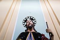 Rizziconi, Calabria, 03.12.2014. Bilder til feature om båndene mellom Vatikanet, Ndrangheta og den italienske stat. Foto: Christopher Olssøn.