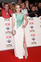 Laura Main<br /> arriving for the National TV Awards 2020 at the O2 Arena, London.<br /> <br /> ©Ash Knotek  D3550 28/01/2020