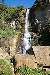 Waterfalls on Ramboda Oya river, Ramboda, Nuwara Eliya, Central Province, Sri Lanka, Asia