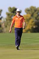 Zach Johnson (USA) on the 2nd green during Saturday's Round 3 of the Waste Management Phoenix Open 2018 held on the TPC Scottsdale Stadium Course, Scottsdale, Arizona, USA. 3rd February 2018.<br /> Picture: Eoin Clarke | Golffile<br /> <br /> <br /> All photos usage must carry mandatory copyright credit (&copy; Golffile | Eoin Clarke)