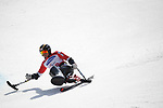 Kenji Natsume (JPN), <br /> MARCH 14, 2018 - Alpine Skiing : <br /> men's Giant Slalom Sitting <br /> at Jeongseon Alpine Centre  <br /> during the PyeongChang 2018 Paralympics Winter Games in Pyeongchang, South Korea. <br /> (Photo by Sho Tamura/AFLO SPORT)