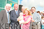 Having fun at the official opening of Ballybunion Leisure centre on Friday
