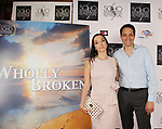 "Actor Ralph Macchio poses with his daughter Julia who stars in ""Wholly Broker"" - SOHO International Film Festival on June 16, 2018 in New York City, New York. (Photo by Sue Coflin/Max Photo)"