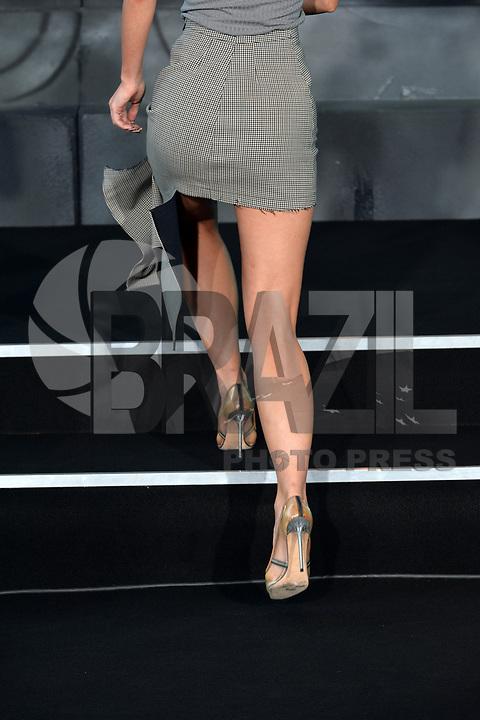 BERLIN, ALEMANHA, 17.07.2017 - PREMIERE-BERLIN - Lena Meyer-Landrut durante premiere de Atomic Blonde em Berlin na Alemanha ontem segunda-feira, 17.(Foto: Timm/Brazil Photo Press)