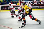 Schuetz, Justin (RB Hockey Akademie/AUT) \ beim Spiel Deutschland (dunkel) -  Schweiz (hell).<br /> <br /> Foto &copy; PIX-Sportfotos *** Foto ist honorarpflichtig! *** Auf Anfrage in hoeherer Qualitaet/Aufloesung. Belegexemplar erbeten. Veroeffentlichung ausschliesslich fuer journalistisch-publizistische Zwecke. For editorial use only.