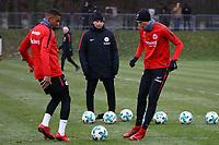 Kevin-Prince Boateng (Eintracht Frankfurt), Marius Wolf (Eintracht Frankfurt) - 05.12.2017: Eintracht Frankfurt Training, Commerzbank Arena