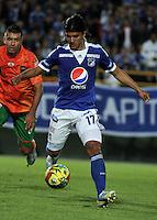 Freddy Montero, delantero de Millonarios. Freddy Montero, forward of Millonarios. (Photo: VizzorImage / Luis Ramírez / Staff).....