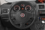 Car pictures of steering wheel view of a 2015 Fiat SCUDO EXECUTIVE 5 Door Combi Steering Wheel
