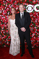 NEW YORK, NY - JUNE 10: Kathleen Rosemary Treado and Jeff Daniels  at the 72nd Annual Tony Awards at Radio City Music Hall in New York City on June 10, 2018.