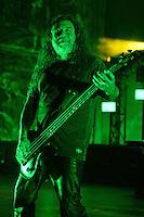 MIAMI BEACH, FL - SEPTEMBER 28:  Slayer in concert at the Fillmore on September 28, 2016 in Miami Beach, Florida. Credit: mpi04/MediaPunch