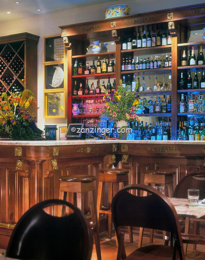 Commercial Restaurant Bar Interior Decor Contemporary Very Functional