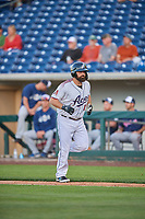 Cody Decker (17) of the Reno Aces during the game against the Nashville Sounds at Greater Nevada Field on June 5, 2019 in Reno, Nevada. The Aces defeated the Sounds 3-2. (Stephen Smith/Four Seam Images)