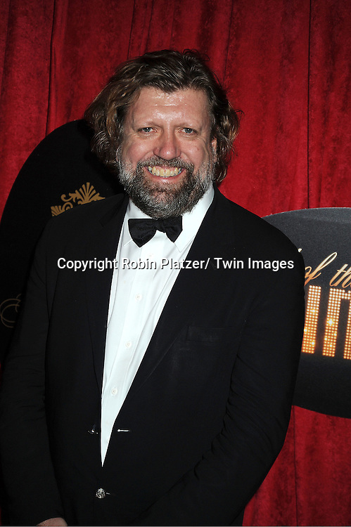 """Oskar Eustis arrives at the """" End Of The Rainbow"""" Broadway opening night party  at The Plaza Hotel  in New York City on April 2, 2012. The show stars Tracie Bennett, Tom Pelphrey, Michael Cumptsy and Jay Russell."""