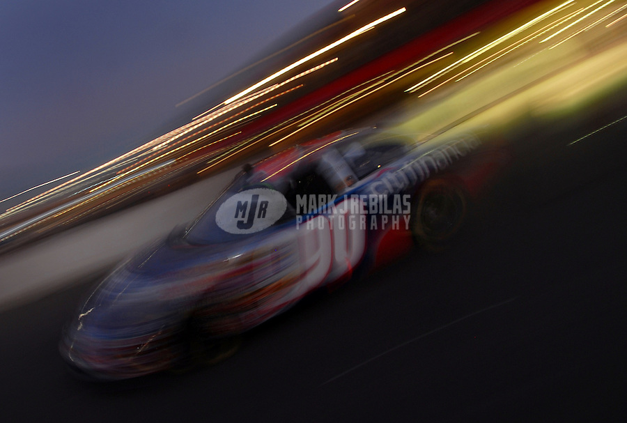 Sept. 2, 2006; Fontana, CA, USA; Nascar Busch Series driver Stephen Leicht (90) during the Ameriquest 300 at California Speedway. Mandatory Credit: Mark J. Rebilas