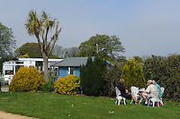 Beauveland Campingplatz, Insel Jersey, Kanalinseln