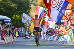 Anna Van Der Breggen (NED) wins the Women Elite Road Race of the 2018 UCI Road World Championships running 156.2km from Kufstein to Innsbruck, Innsbruck-Tirol, Austria 2018. 29th September 2018.<br /> Picture: Innsbruck-Tirol 2018/Dario Belingheri/BettiniPhoto | Cyclefile<br /> <br /> <br /> All photos usage must carry mandatory copyright credit (&copy; Cyclefile | Innsbruck-Tirol 2018/Dario Belingheri/BettiniPhoto)