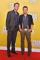 NASHVILLE, TN - NOVEMBER 1: Love & Theft on the Macy's Red Carpet at the 46th Annual CMA Awards at the Bridgestone Arena in Nashville, TN on Nov. 1, 2012. © mpi99/MediaPunch Inc. ***NO GERMANY***NO AUSTRIA*** .<br />