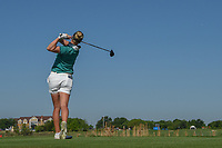 Nicole Broch Larsen (DNK) watches her tee shot on 9 during round 2 of  the Volunteers of America LPGA Texas Classic, at the Old American Golf Club in The Colony, Texas, USA. 5/6/2018.<br /> Picture: Golffile | Ken Murray<br /> <br /> <br /> All photo usage must carry mandatory copyright credit (&copy; Golffile | Ken Murray)