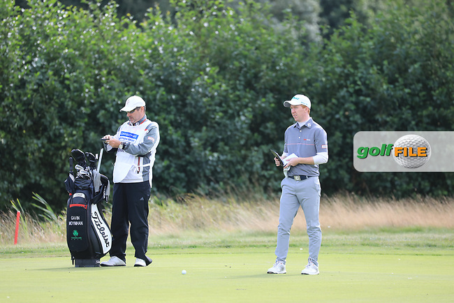 Gavin Moynihan (IRL) in action during the second round of the Porsche European Open , Green Eagle Golf Club, Hamburg, Germany. 06/09/2019<br /> Picture: Golffile | Phil Inglis<br /> <br /> <br /> All photo usage must carry mandatory copyright credit (© Golffile | Phil Inglis)