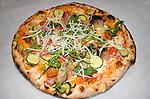 Pizza, Dar Poeta Restaurant, Rome, Italy