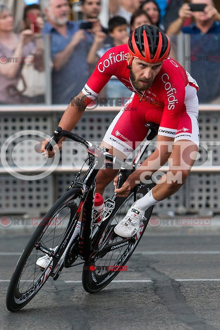 Loic Chetout during the last stage or La Vuelta of Spain in Madrid. September 10, 2016. (ALTERPHOTOS/Rodrigo Jimenez) NORTEPHOTO.COM