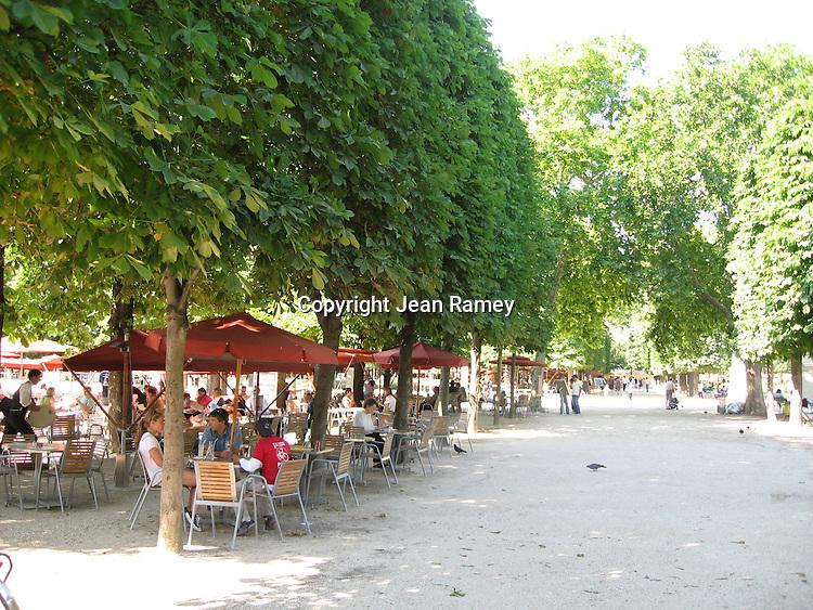 Tuileries Cafe, Paris