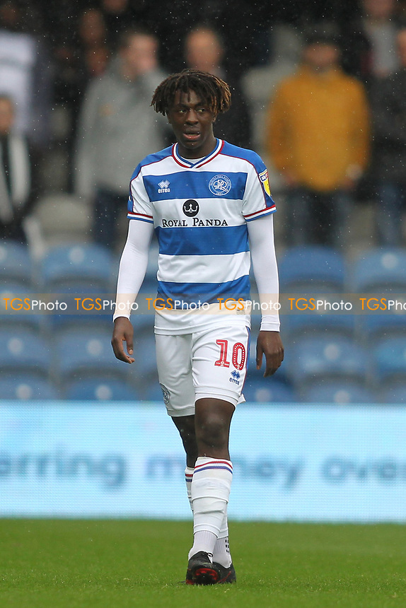 Eberechi Eze of Queens Park Rangers during Queens Park Rangers vs Derby County, Sky Bet EFL Championship Football at Loftus Road Stadium on 6th October 2018