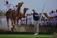 Jonathan Caldwell (NIR) on the 8th during Round 1 of the Oman Open 2020 at the Al Mouj Golf Club, Muscat, Oman . 27/02/2020<br /> Picture: Golffile   Thos Caffrey<br /> <br /> <br /> All photo usage must carry mandatory copyright credit (© Golffile   Thos Caffrey)