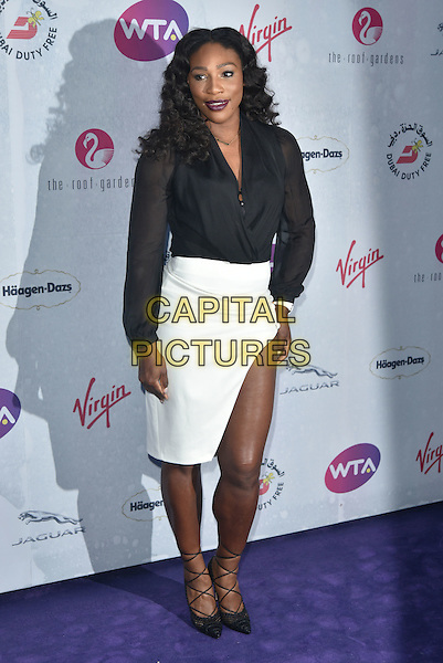 Serena Williams at WTA pre-Wimbledon Party at The Roof Gardens, Kensington on june 23rd 2016 in London, England.<br /> CAP/PL<br /> &copy;Phil Loftus/Capital Pictures