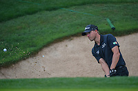 Richy Werenski (USA) hits from the trap on 18 during day 3 of the Valero Texas Open, at the TPC San Antonio Oaks Course, San Antonio, Texas, USA. 4/6/2019.<br /> Picture: Golffile | Ken Murray<br /> <br /> <br /> All photo usage must carry mandatory copyright credit (&copy; Golffile | Ken Murray)