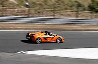Nederland - Zandvoort - 8 juli 2018.  Het British Festival. Dit jaar staat het British Festival in het teken van de Grand Prix. Races op het Circuit van Zandvoort.  McLaren 650S Spider.    Foto Berlinda van Dam Hollandse Hioogte