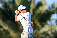 Nacho Elvire (ESP) on the 14th tee during the 2nd round of the Abu Dhabi HSBC Championship, Abu Dhabi Golf Club, Abu Dhabi,  United Arab Emirates. 17/01/2020<br /> Picture: Fran Caffrey   Golffile<br /> <br /> <br /> All photo usage must carry mandatory copyright credit (© Golffile   Fran Caffrey)