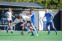 Boston, MA - Sunday April 23, 2017:  during a regular season National Women's Soccer League (NWSL) match between the Boston Breakers and Sky Blue FC at Jordan Field.