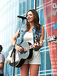 Rose Falcon performs during Day 2 of the 2013 CMA Music Festival in Nashville, Tennessee.
