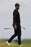 Tony Finau (USA) on the 14th during Round 4 of the Alfred Dunhill Links Championship 2019 at St. Andrews Golf CLub, Fife, Scotland. 29/09/2019.<br /> Picture Thos Caffrey / Golffile.ie<br /> <br /> All photo usage must carry mandatory copyright credit (© Golffile | Thos Caffrey)