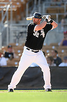 Adam Dunn #32 of the Chicago White Sox plays in a spring training game against the Texas Rangers at Camelback Ranch on March 12, 2011 in Glendale, Arizona. .Photo by:  Bill Mitchell/Four Seam Images.