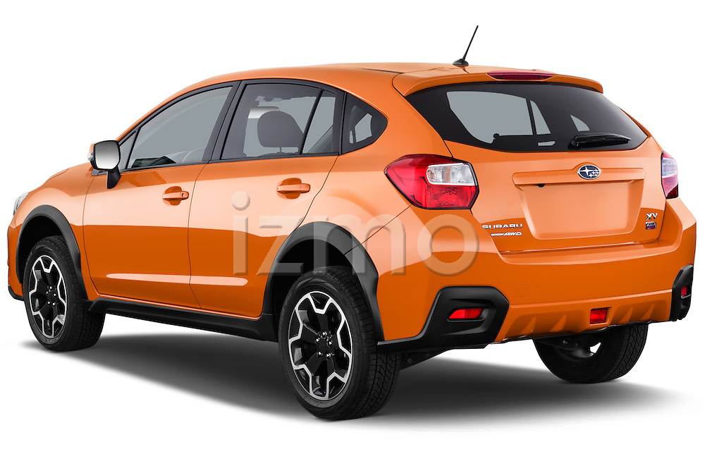 Car pictures of rear three quarter view of 2015 Subaru XV-Crosstrek Premium 5 Door SUV Angular Rear