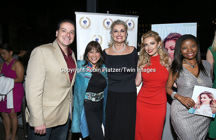 Dalal/ Dalal Bruchmann, Recording Artist,Composer and Actress  and her mother Maria Harmony Gratia Bruchmann attend the &quot;EPN Spotlight Magazine&quot;  launch party on June 10, 2016 at the Renaissance NY Hotel in New York, New York, USA. Dalal Bruchmann is the cover model.<br /> <br /> photo by Robin Platzer/Twin Images<br />  <br /> phone number 212-935-0770