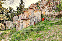The Monastery of Peribleptos in Mystras, Greece