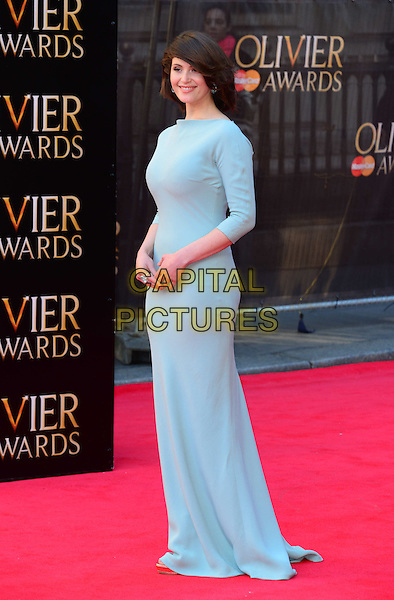 LONDON, ENGLAND - APRIL 13:  Gemma Arterton attends The Olivier Awards, the illustrious ceremony celebrating the very best in English theatre, at Royal Opera House, Covent Garden, on April 13, 2014, in London, England.<br /> CAP/JOR<br /> &copy;Nils Jorgensen/Capital Pictures
