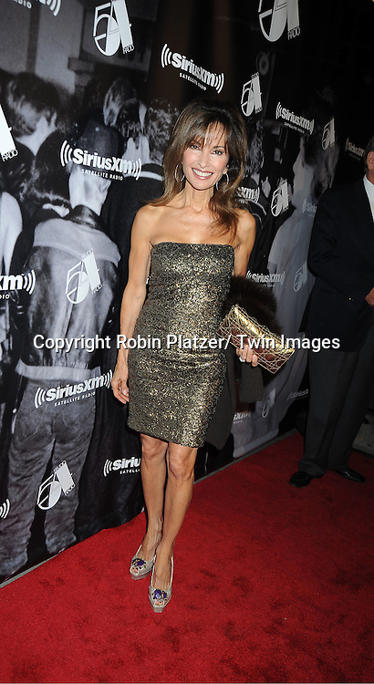 """Susan Lucci attends the SiriusXM Reopens Studio 54 for """"One Night Only"""" party on October 18, 2011 at Studio 54 in New York City."""