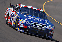 Apr 19, 2007; Avondale, AZ, USA; Nascar Nextel Cup Series driver Mike Bliss (49) during practice for the Subway Fresh Fit 500 at Phoenix International Raceway. Mandatory Credit: Mark J. Rebilas