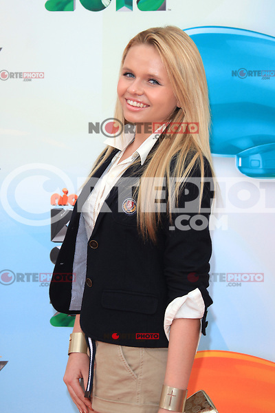 Alli Simpson at Nickelodeon's 25th Annual Kids' Choice Awards at The Galen Center on March 31, 2012 in Los Angeles, California. © mpi26/MediaPunch Inc. /NortePhoto<br />