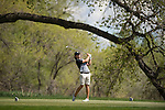 19 MAY 2016: Ryan Gendron of Saint Leo hits his tee shot during the 2016 Division II Men's Individual Golf Championship held at Green Valley Ranch Golf Club in Denver, CO. Justin Tafoya/NCAA Photos